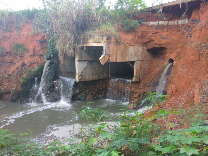 Intervenção emergencial deverá ser a opção para o Córrego Brejo Alegre
