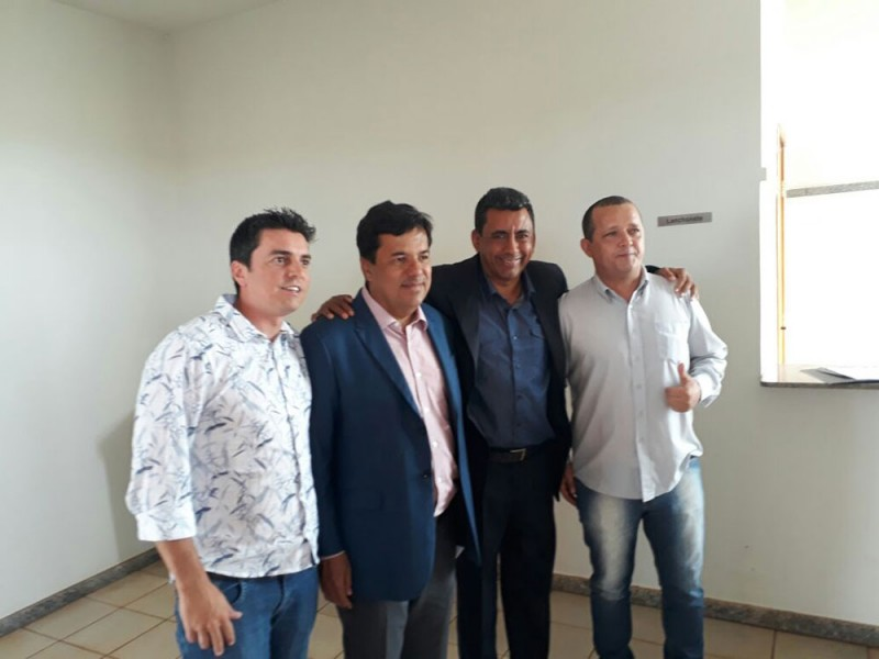 Secretário de Política Sobre Drogas participa de reunião com o Ministro da Educação Mendonça Filho
