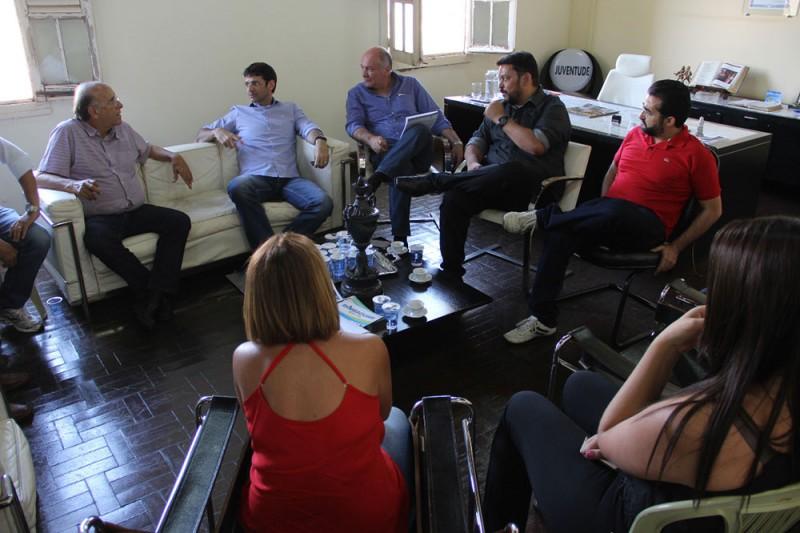 Deputado Federal Marcelo Álvaro Antônio visita Araguari