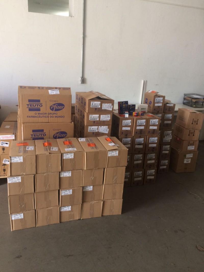 Farmácia Municipal de Araguari recebe novos medicamentos