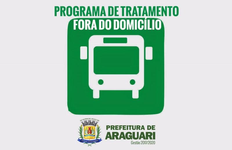 Tratamento Fora do Domicílio continua em Araguari