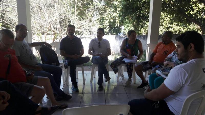 Secretário de Estado Adjunto de Cultura visita Araguari