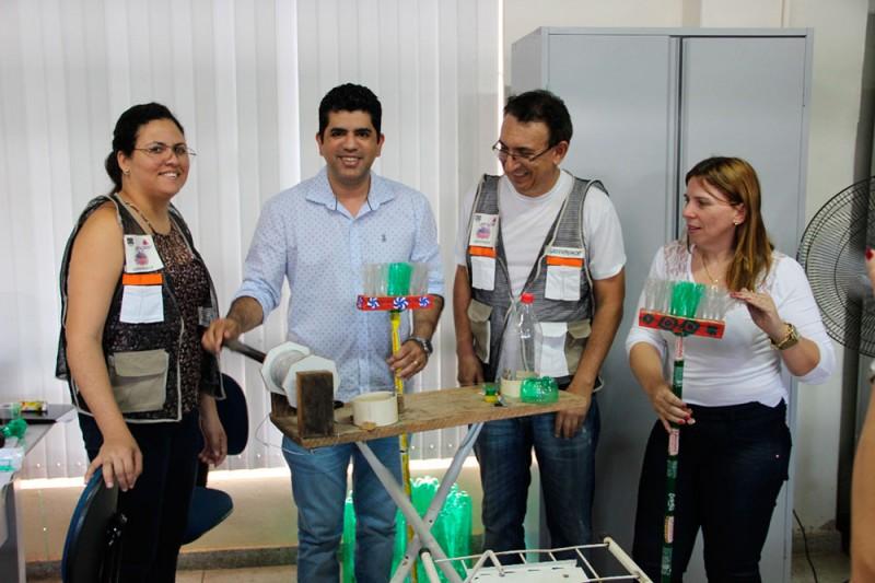 Projeto Vereda de Plásticos é apresentado para Secretaria de Educação